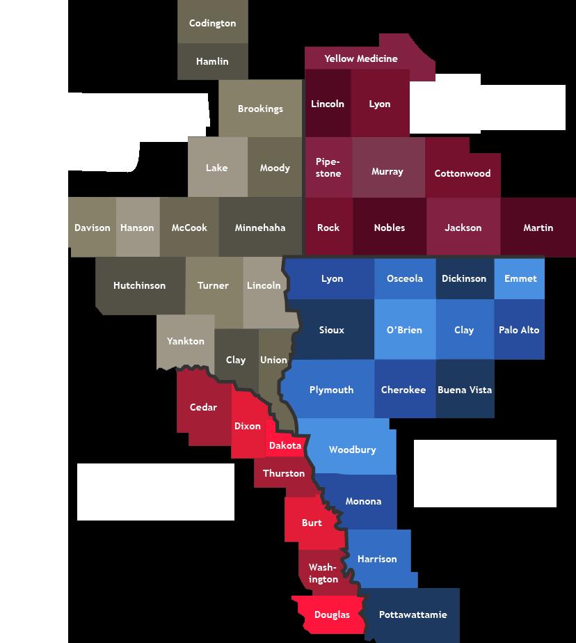 Elevate Appraisal Coverage Map June 21